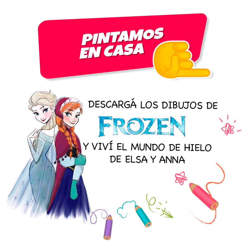 pintar-dibujos-frozen